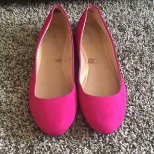 Express Shoes - pink flats